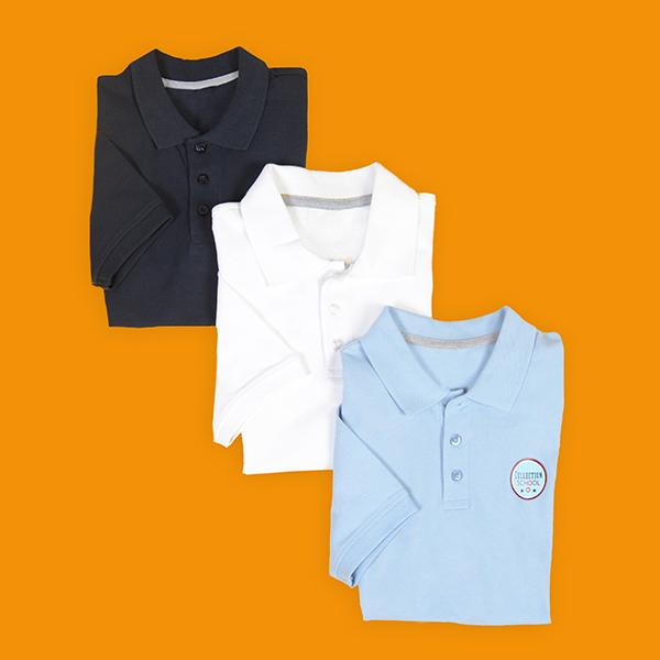 Polos manches courtes Logoclub Academy